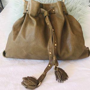 Sigurd Olsen - Women's olive Leather bag